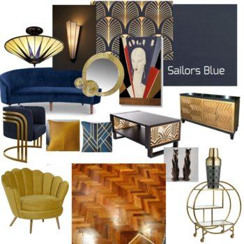 Art Deco Mood Board