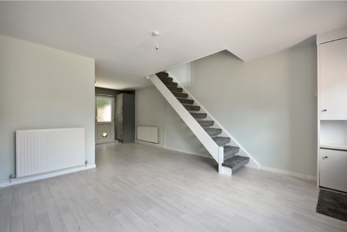 Remove wall to give a more modern open plan feel